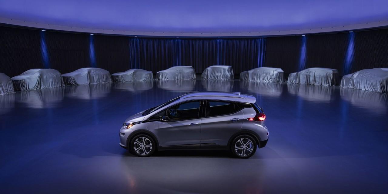 GM은 무려 22개의 전기차 라인업을 준비한다